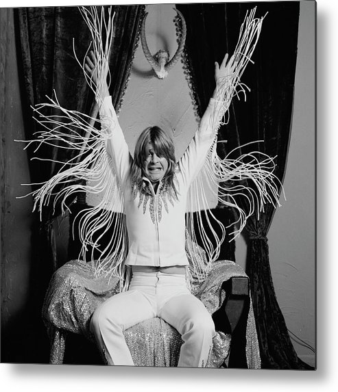 Event Metal Print featuring the photograph Madman Salutes by Fin Costello