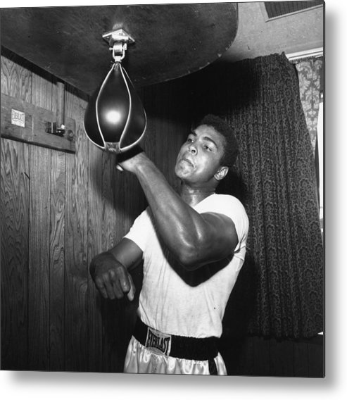 People Metal Print featuring the photograph Muhammad Ali by Harry Benson