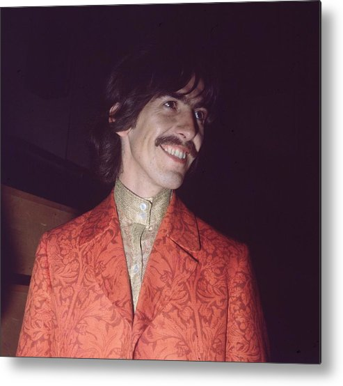 George Harrison Metal Print featuring the photograph Nice Jacket George by John Williams