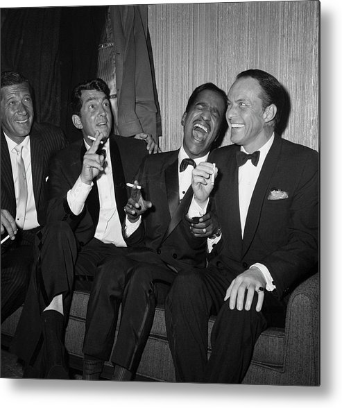 Charity Benefit Metal Print featuring the photograph Rat Pack At Carnegie Hall by Bettmann