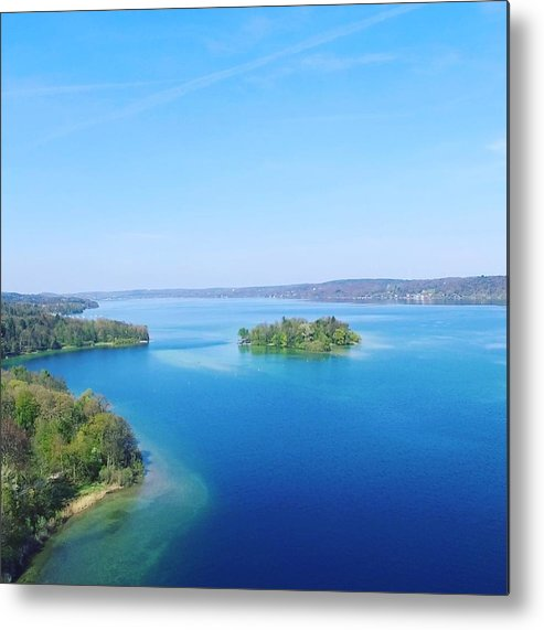Starnberg Metal Print featuring the photograph Roseisland by Daniel Hornof