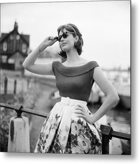 Lifestyles Metal Print featuring the photograph Summer Knitwear by Chaloner Woods