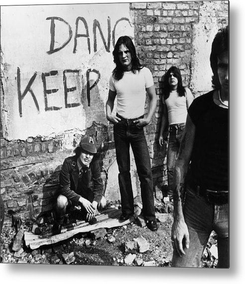 Rock Music Metal Print featuring the photograph Sutry Promo by Hulton Archive