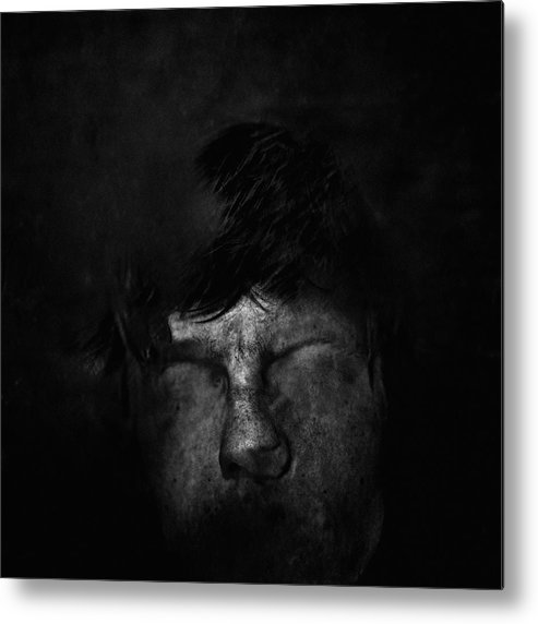 People Metal Print featuring the photograph Sweden, Stockholm, Distorted Face by Win-initiative