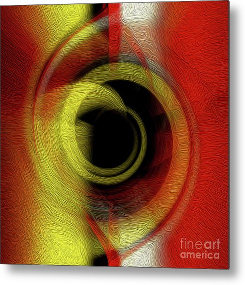 Art Metal Print featuring the digital art Temporal Vortex 6 by Kenneth Montgomery