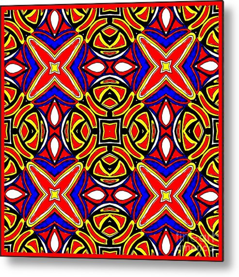 Cool Metal Print featuring the digital art Untitled 014 by Graham Roberts
