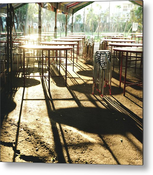 Shadow Metal Print featuring the photograph Upcoming Feast by Lin Yu Wei