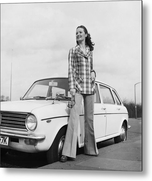 Fashion Model Metal Print featuring the photograph Want A Lift by Chaloner Woods