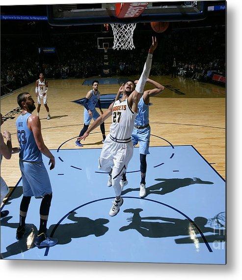 Nba Pro Basketball Metal Print featuring the photograph Jamal Murray by Joe Murphy
