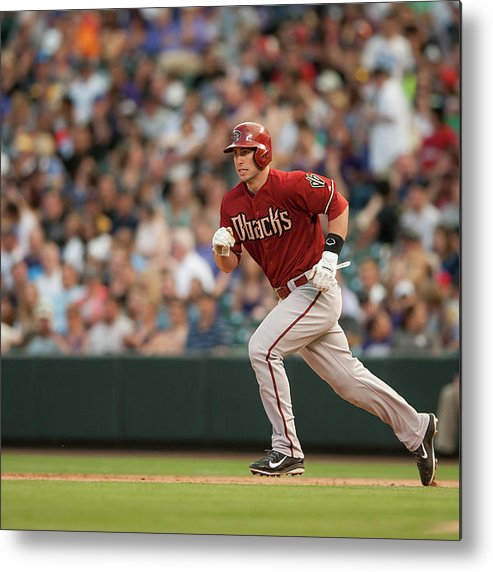 National League Baseball Metal Print featuring the photograph Paul Goldschmidt by Dustin Bradford