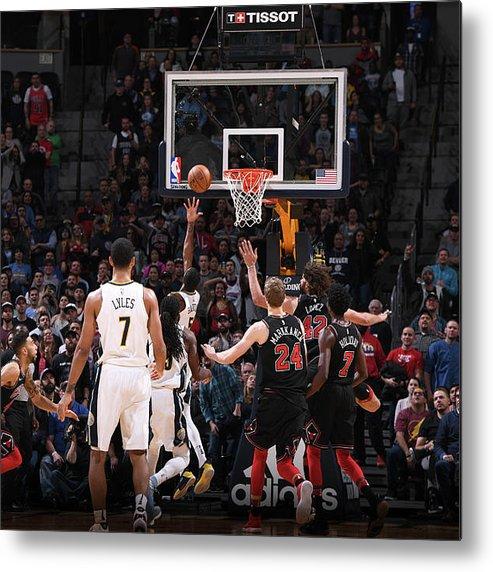 Nba Pro Basketball Metal Print featuring the photograph Will Barton by Garrett Ellwood