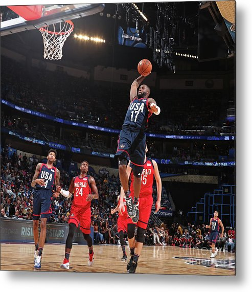 Event Metal Print featuring the photograph Jonathon Simmons by Nathaniel S. Butler