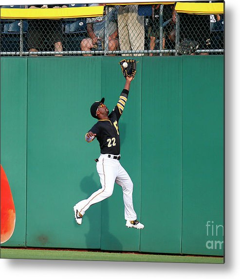 Second Inning Metal Print featuring the photograph Andrew Mccutchen by Justin K. Aller