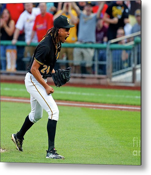 Second Inning Metal Print featuring the photograph Chris Archer by Justin K. Aller