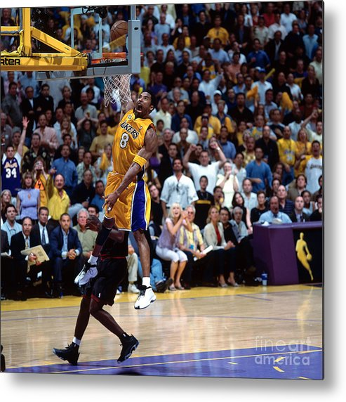 Playoffs Metal Print featuring the photograph Kobe Bryant by Nathaniel S. Butler