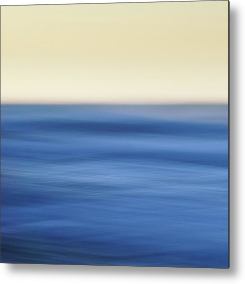 Waves Metal Print featuring the photograph Calm by Bear R Humphreys