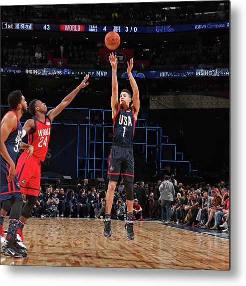 Event Metal Print featuring the photograph Devin Booker by Nathaniel S. Butler