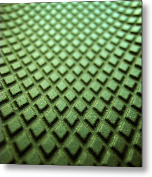 Sandal Metal Print featuring the photograph Green diamons forever by Photo ephemera