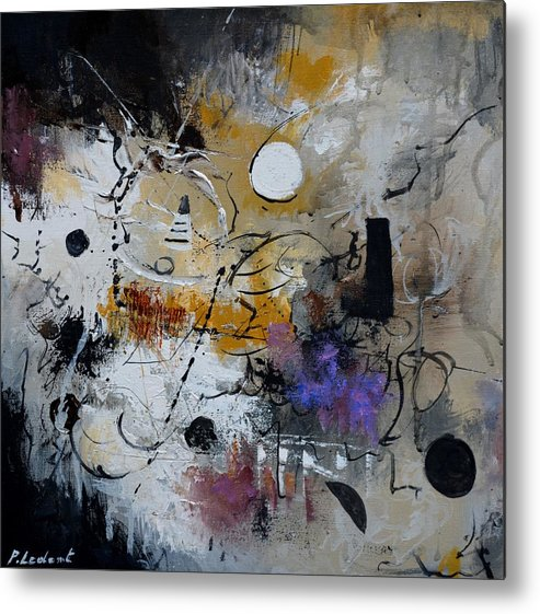 Abstract Metal Print featuring the painting Hamilcar s strategy by Pol Ledent