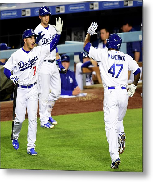 People Metal Print featuring the photograph Howie Kendrick by Harry How