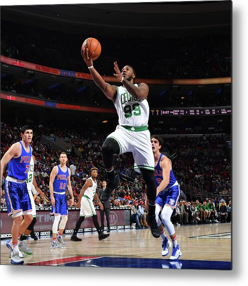 Nba Pro Basketball Metal Print featuring the photograph Jae Crowder by Jesse D. Garrabrant