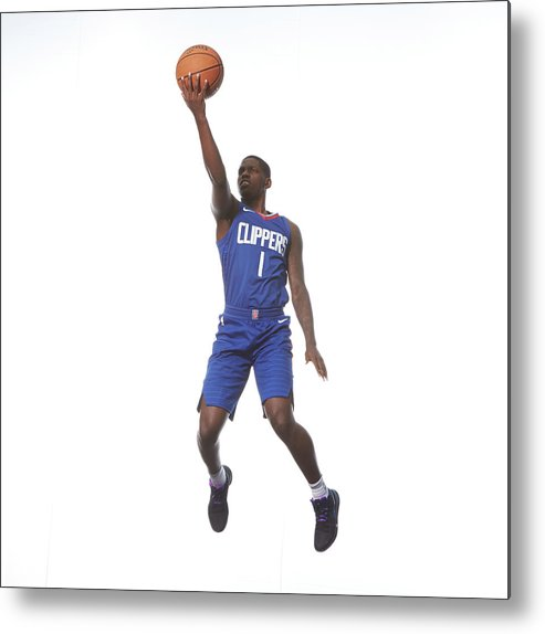 Nba Pro Basketball Metal Print featuring the photograph Jawun Evans by Nathaniel S. Butler