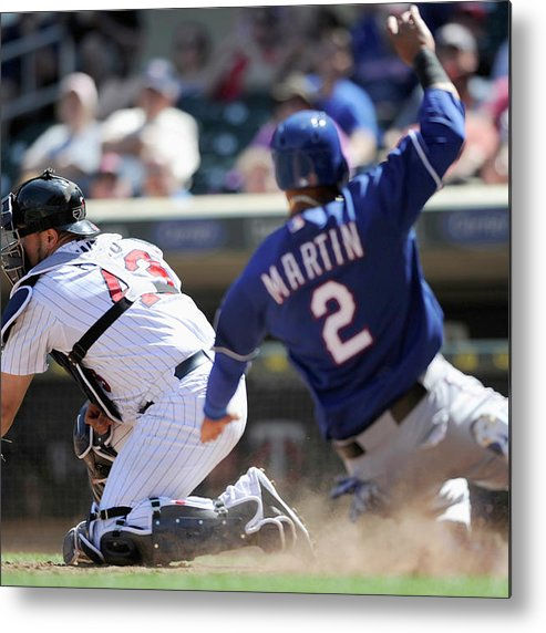 American League Baseball Metal Print featuring the photograph Josmil Pinto by Hannah Foslien