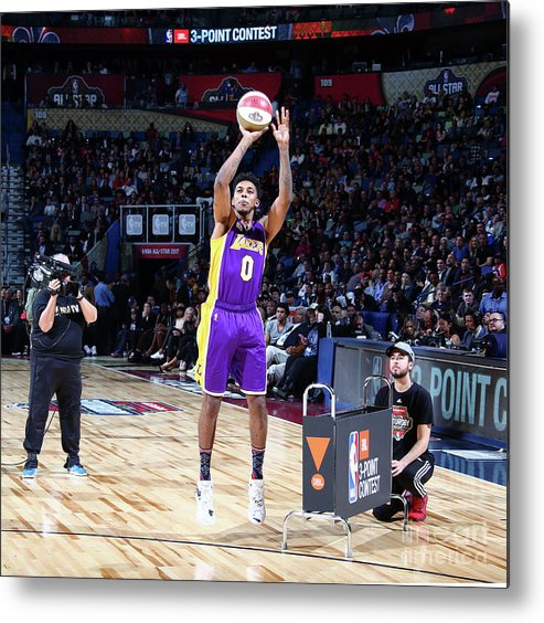 Event Metal Print featuring the photograph Nick Young by Nathaniel S. Butler