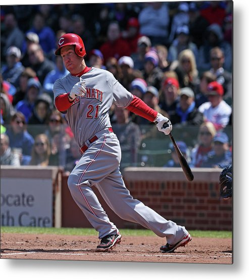People Metal Print featuring the photograph Todd Frazier by Jonathan Daniel