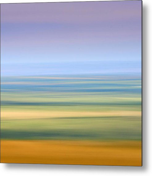 Abstract Metal Print featuring the photograph Towards Bude by Bear R Humphreys