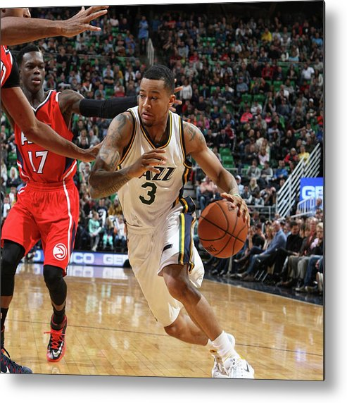 Sport Metal Print featuring the photograph Trey Burke by Melissa Majchrzak