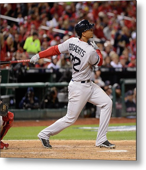 Playoffs Metal Print featuring the photograph Xander Bogaerts by Ron Vesely