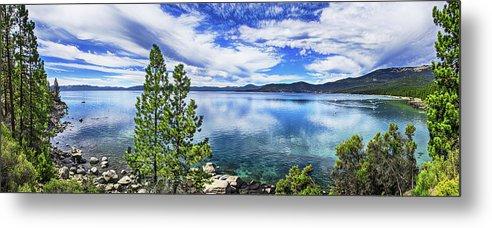 Incline Shoreline Panorama, Lake Tahoe, Nevada by Don Schimmel