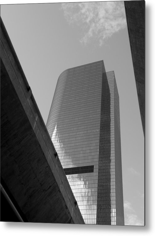 Tunnel Metal Print featuring the photograph Tunnel Vision 2 by Lloyd Silverman