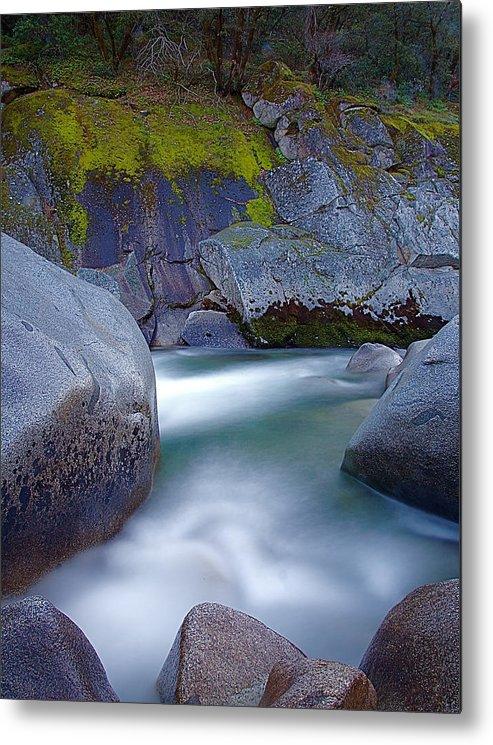Yuba River Metal Print featuring the photograph Yuba Flow by John Daly