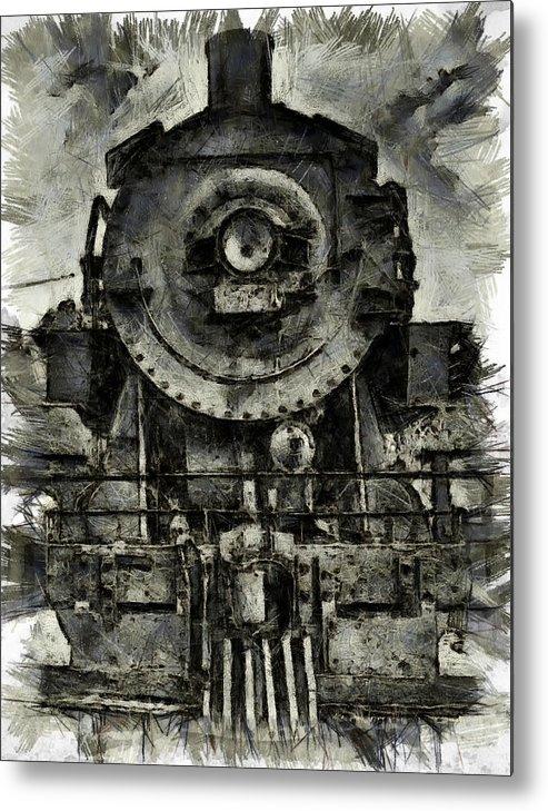Locomotive Metal Print featuring the photograph Union Pacific Locomotive 6051 by Joseph Hollingsworth