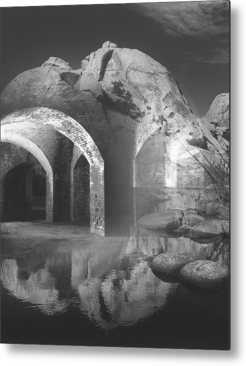 Surrealism Metal Print featuring the photograph Looking Beyond by Bob Bennett
