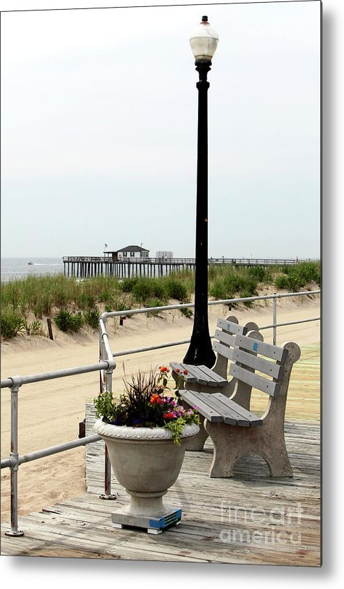 Ocean Grove Colors Metal Print featuring the photograph Ocean Grove Colors by John Rizzuto