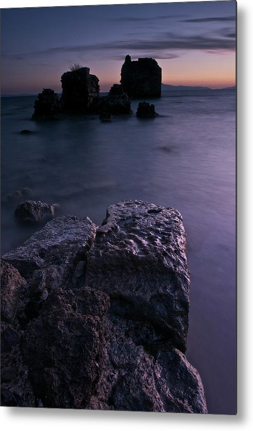 Sunrise Metal Print featuring the photograph Remnants by Kostas Barbadimos