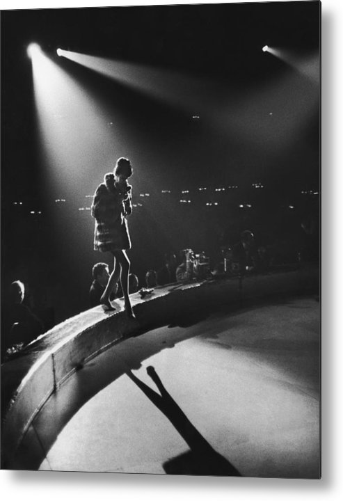 Shadow Metal Print featuring the photograph April In Paris Ball by Slim Aarons