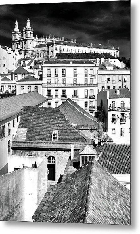 Lisbon Xi Metal Print featuring the photograph Lisbon Xi by John Rizzuto
