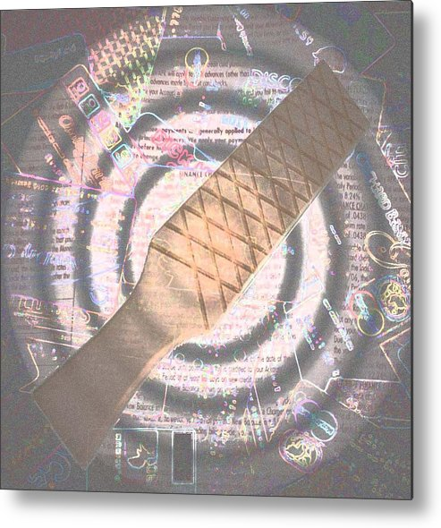 Credit Metal Print featuring the photograph Spanking Of Credit by Jennifer Ott