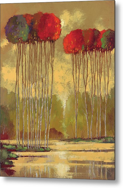 Ford Smith Metal Print featuring the painting Indian Summer by Ford Smith