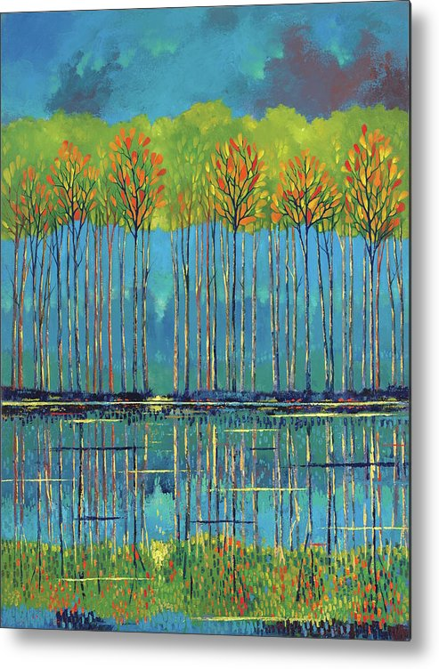 Ford Smith Metal Print featuring the painting Natural Affection by Ford Smith