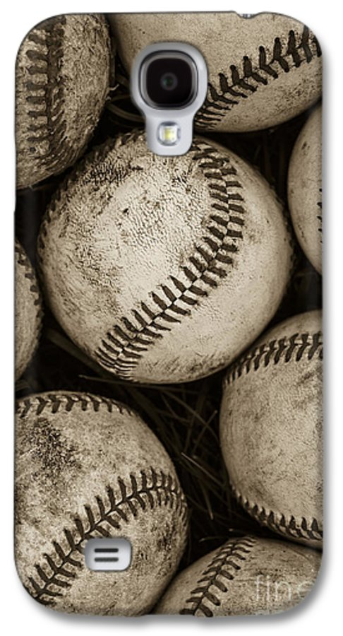 Baseball Galaxy S4 Case featuring the photograph Baseballs by Diane Diederich