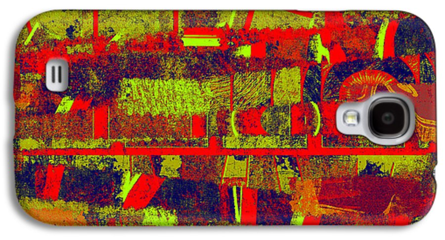 Abstract Galaxy S4 Case featuring the digital art 0480 Abstract Thought by Chowdary V Arikatla