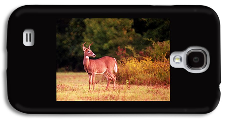 Deer Galaxy S4 Case featuring the photograph 070406-58 by Mike Davis