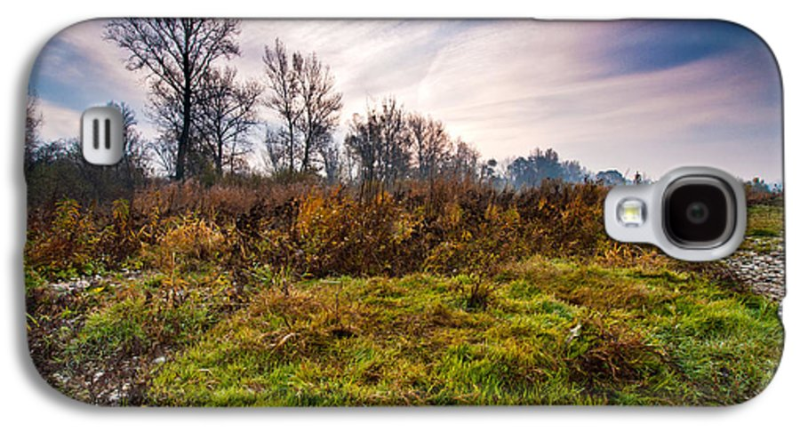 Landscapes Galaxy S4 Case featuring the photograph Autumn Morning by Davorin Mance
