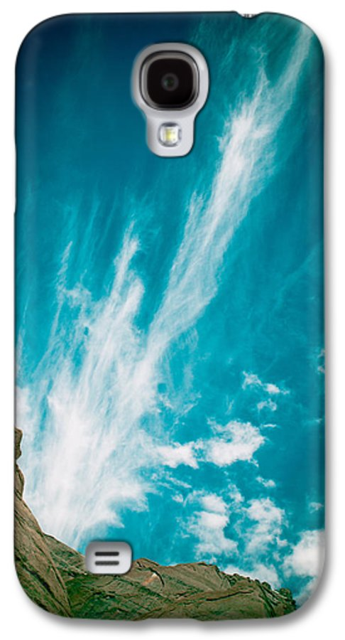 Landscape Galaxy S4 Case featuring the photograph Himalyas Mountains In Tibet With Clouds by Raimond Klavins