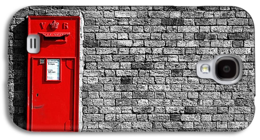Post Galaxy S4 Case featuring the photograph Post Box by Mark Rogan